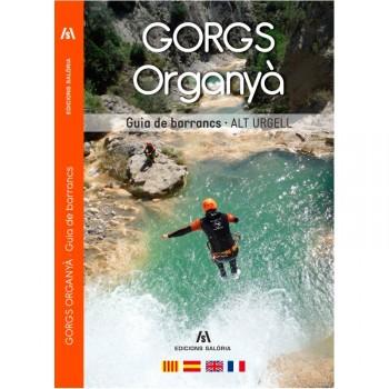 Gorgs Organya. Guia de barrancs. Alt Urgell