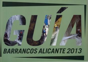 Guia barrancos Alicante 2013