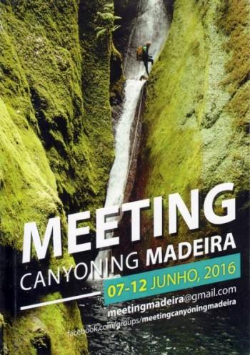 Meeting Canyoning Madeira 2016