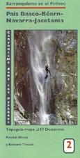 Carte N°2 - Pays Basque, Béarn, Navarre, Jacetania